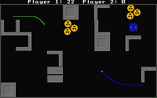 Grinders atari screenshot